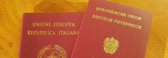 Austria, media: «Pronta bozza di legge per doppia cittadinanza agli altoatesini»