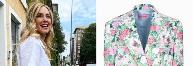 Chiara Ferragni lancia la giacca a fiori per l'estate. Ma il prezzo fa infuriare i fan: «È da pazzi...»