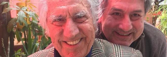 Lando Buzzanca e il figlio Massimilano (Instagram)