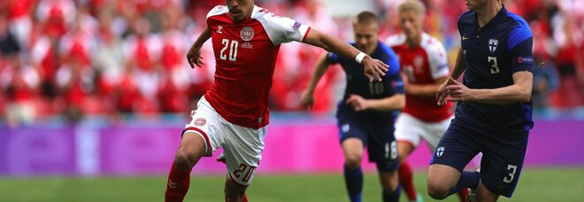 Danimarca-Finlandia 0-1, Pohjanpalo decide la partita con un colpo di testa