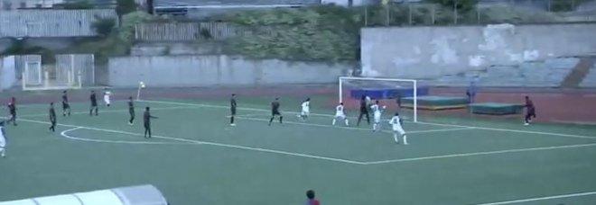 Portici, primo pari: 1-1 con il San Luca, azzurri sempre in vetta