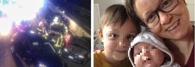 Scende dall'auto dopo l'incidente per aiutare i figli, 38enne travolta e uccisa in A8