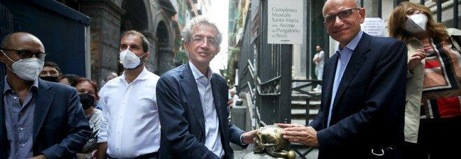 Enrico Letta a Napoli con Manfredi, messaggi al governo: «Subito i fondi per Napoli sono il garante del Patto»