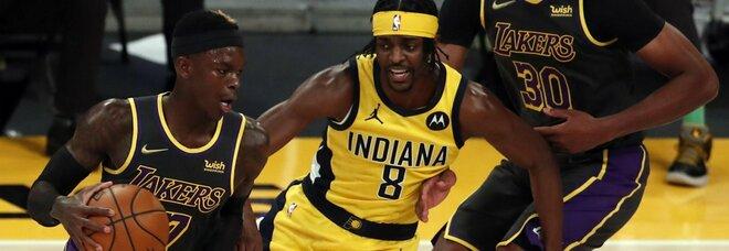 Utah riprende la corsa, i Lakers rispondono. Paura per Embiid