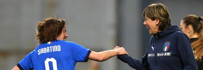 L'Italia è agli europei inglesi: travolta Israele 12-0. A Firenze è festa azzurra
