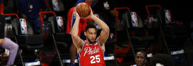 NBA, super Doncic batte Denver. Sconfitte per Lakers e Sixers