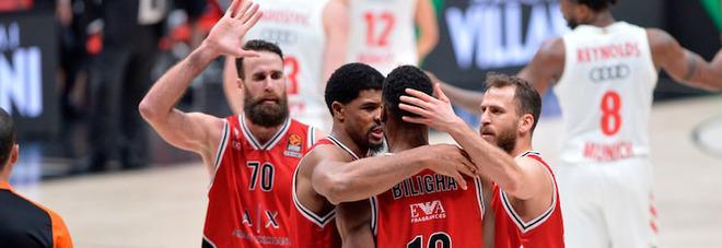 Basket, la finale scudetto sarà tra Olimpia MIlano e Virtus Bologna