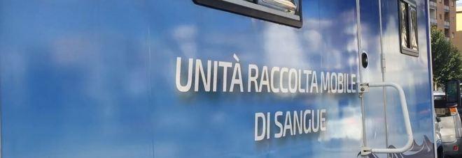 «Unità raccolta mobile di sangue», basta una domanda e il camioncino dell'Avis chiude le porte
