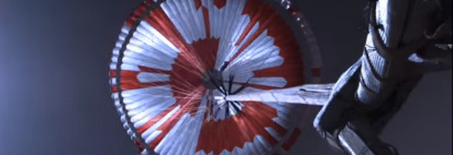 Il messaggio segreto nascosto nel paracadute del rover Perseverance: «È molto meglio osare»