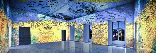 Napoli inaugura la mostra 3d van gogh the immersive for La citta con il museo van gogh