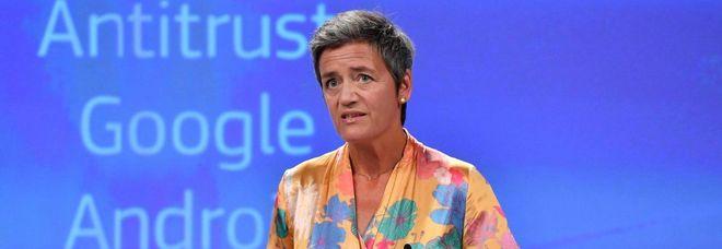 Margrethe Vestager, commissario ue alla concorrenza