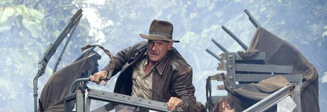 Harrison Ford nelle vesti di Indiana Jones