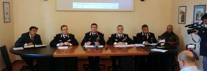 Un momento della conferenza stampa  tenutasi a Reggio Calabria