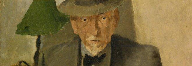 Fausto Pirandello, Ritratto di Luigi Pirandello (particolare)