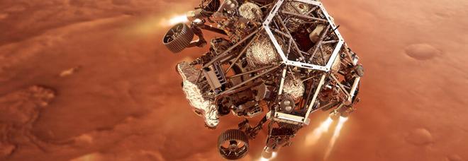 Marte e Perseverance: i sette minuti di terrore della sonda rover in picchiata a 20mila kmh
