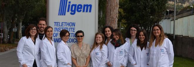 Gruppo di ricerca del Tigem-Telethon di Pozzuoli