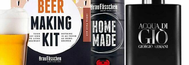 Festa del Papà, le idee regalo su Amazon: dal kit per la birra fatta in casa ai migliori profumi