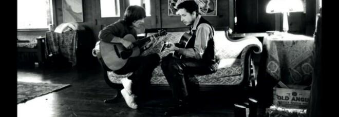 George Harrison e Bob Dylan, 1970