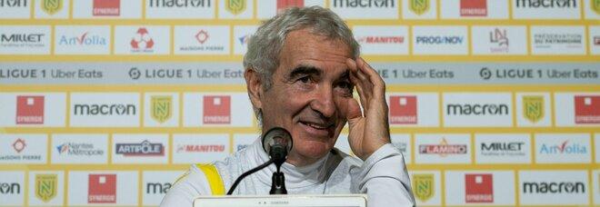 Nantes, Domenech: «Mercato? Avrei voluto Maradona, ma è morto»