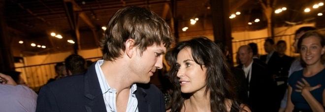 Demi Moore, la rivelazione: «Ashton Kutcher mi ha tradito due volte. Per lui ho detto sì a un rapporto a tre»