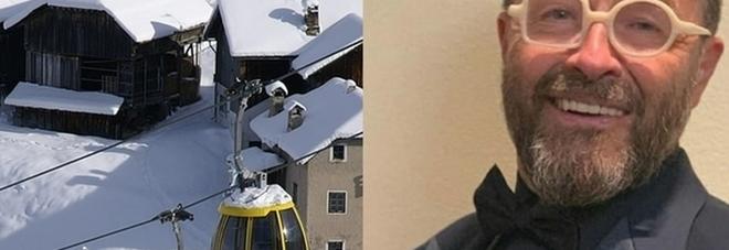 Incidente sugli sci, paura per lo chef Morelli: trasportato in eliambulanza e operato d'urgenza FOTO