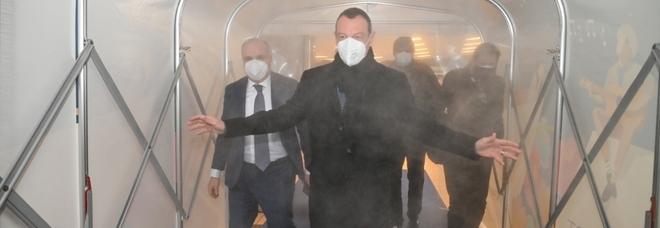 """Sanremo 2021, le mascherine sono """"made in Campania"""" con la Nuova Erreplast"""