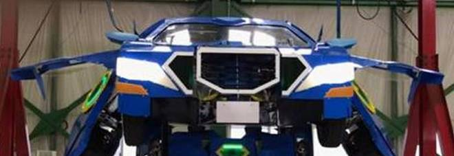 Ecco il robot transformer che diventa un'auto sportiva in un minuto Video
