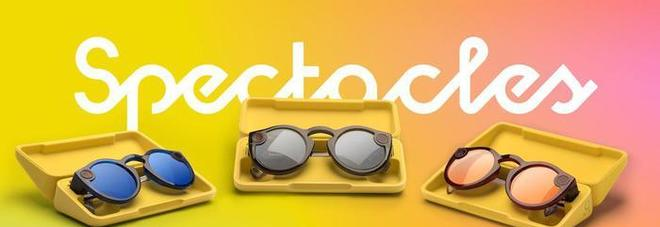 Snapchat presenta la nuova versione degli occhiali Spectacles