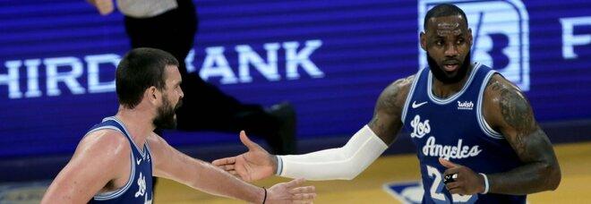 Lakers Gasol Los Angeles Lakers vs Minnesota