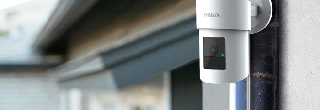 La nuova videocamera pan & zoom di D-Link consente il rilevamento intelligente e visione a 360°