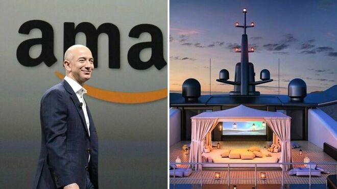 SHOWCASE - Jeff Bezos, il suo nuovo superyatch sarà tanto grande da necessitare di uno yatch di supporto con eliporto