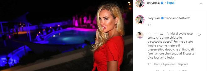 Ilary Blasi, foto mozzafiato in discoteca, ma la didascalia fa infuriare i fan