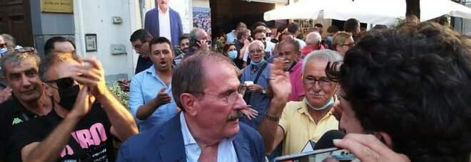 Elezioni comunali a Pompei, Lo Sapio è sindaco e si commuove