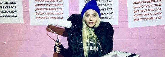 Madonna a favore delle leggi contro le armi: «È la nuova vaccinazione»