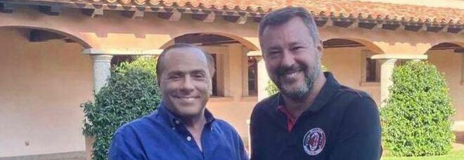 Il patto Salvini-Berlusconi: super gruppo per il Colle
