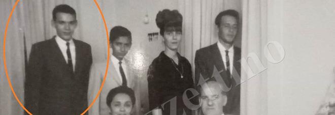 La foto della famiglia Carli, cerchiato Italo Carli