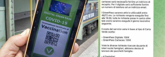 Green pass falsi venduti online, blitz della polizia: perquisiti 32 amministratori di canali Telegram