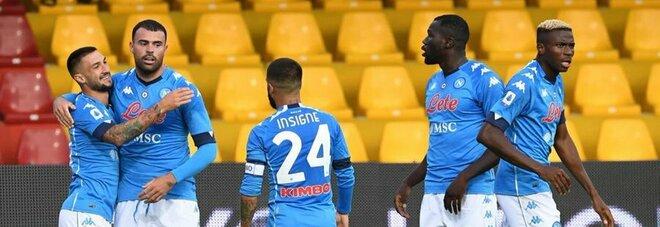 Napoli, sesta squadra più «verde»: il Milan è giovane e vincente