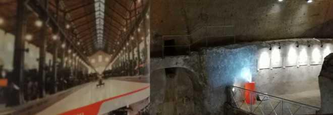 «Il sogno di Bayard», la grande avventura del treno fa tappa nella Galleria Borbonica