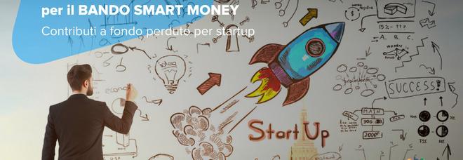 Una call per Smart Money, contributo a fondo perduto per spese delle startup