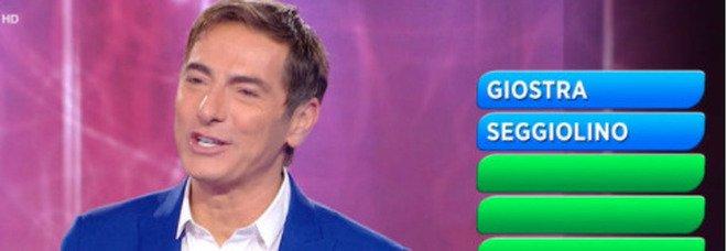 Reazione a Catena, il concorrente dice una parolaccia: Marco Liorni senza parole