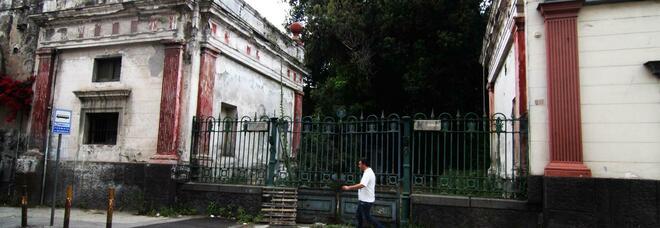 Villa Tropeano, no alla dismissione: presidio di protesta a Ponticelli