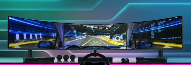 Huawei MateView GT: il primo monitor da gaming del brand cinese