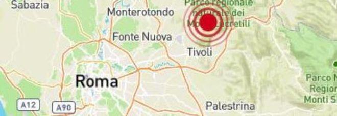 Terremoto vicino Roma di 3.0, avvertito nei quartieri nord-est e da Tivoli ai Castelli