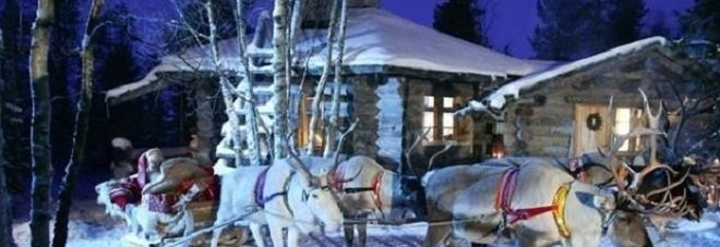 Lapponia Casa Di Babbo Natale Video.Il Paese Di Babbo Natale Ma Quale Lapponia Ecco La Verita Il Mattino