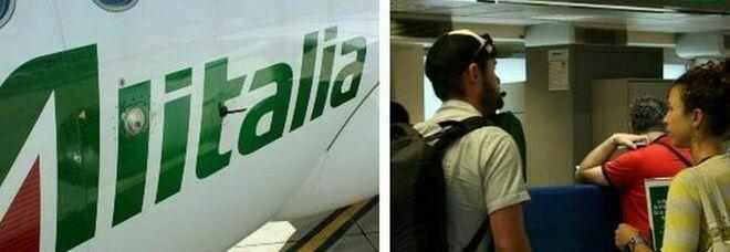 Alitalia, 4.000 esuberi, via 200 piloti. Caso biglietti: c è la soluzione