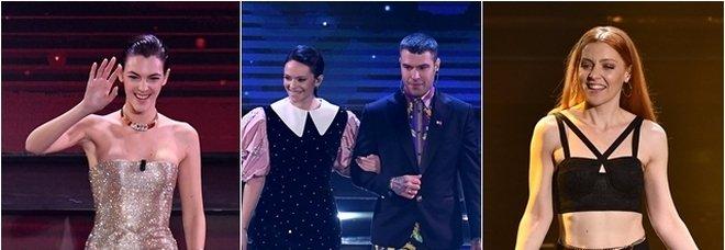 Sanremo 2021, pagelle look terza serata: Fedez-Michielin che paura (4), Ceretti top (9), la «nuova» Noemi (8)