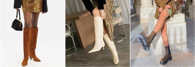 Scarpe per l'inverno 2021, gli stivali di tendenza secondo Stylight