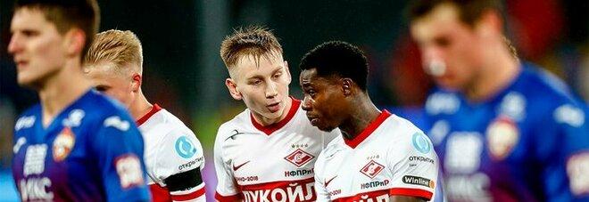 Euro avversari Napoli, Spartak ko: il derby di Mosca va al Cska