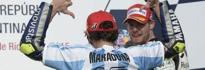 Maradona, da Magic a Vale Rossi: «Ciao Diego, ciao mago della pelota»